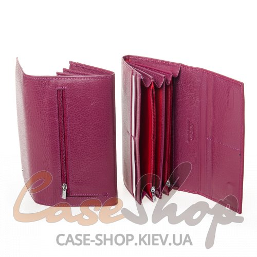 Кошелек DR. BOND W501-2 purple-red